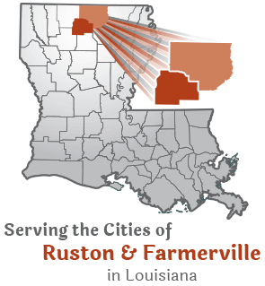 Serving the cities of Ruston and Farmerville, LA